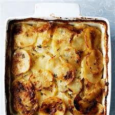 celeriac potato gratin