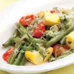 green beans and veg